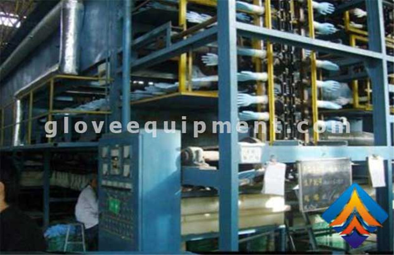 Latex Gloves Production LineLatex Gloves Machine Latex Gloves Production Line