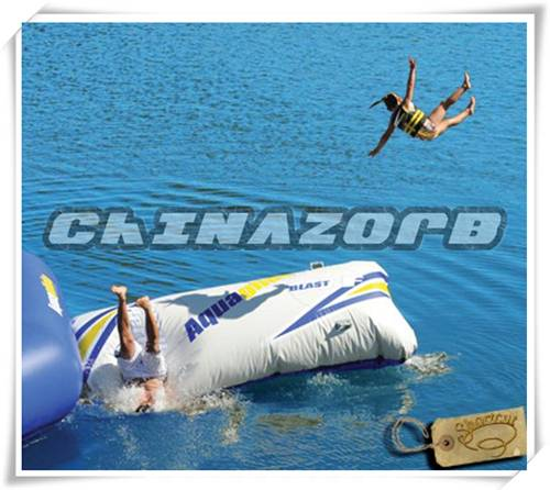 Fantastic water sports games inflatable water blob sale