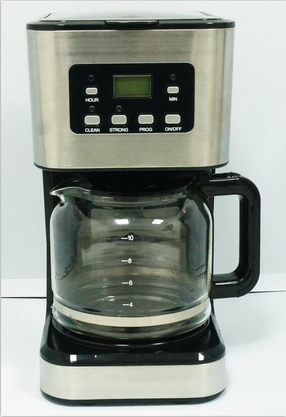 CM-121E 1.5L 12 cups coffee maker with UL and GS certification