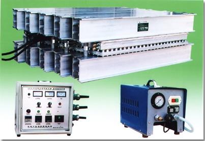 Conveyor belt joint press