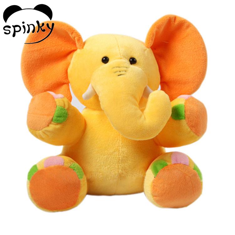 Stuffed animal toys plush elephant