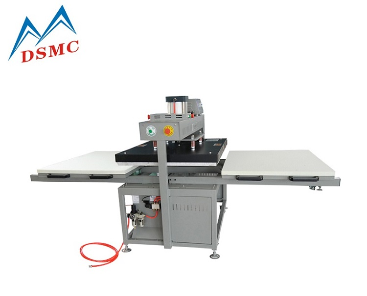 Hot Sale Pneumatic duplex heat press machine with double side