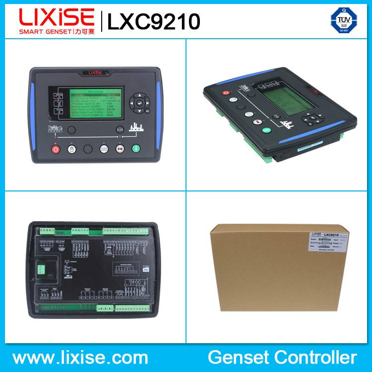 LXC9210 start remote automatic generator control panel