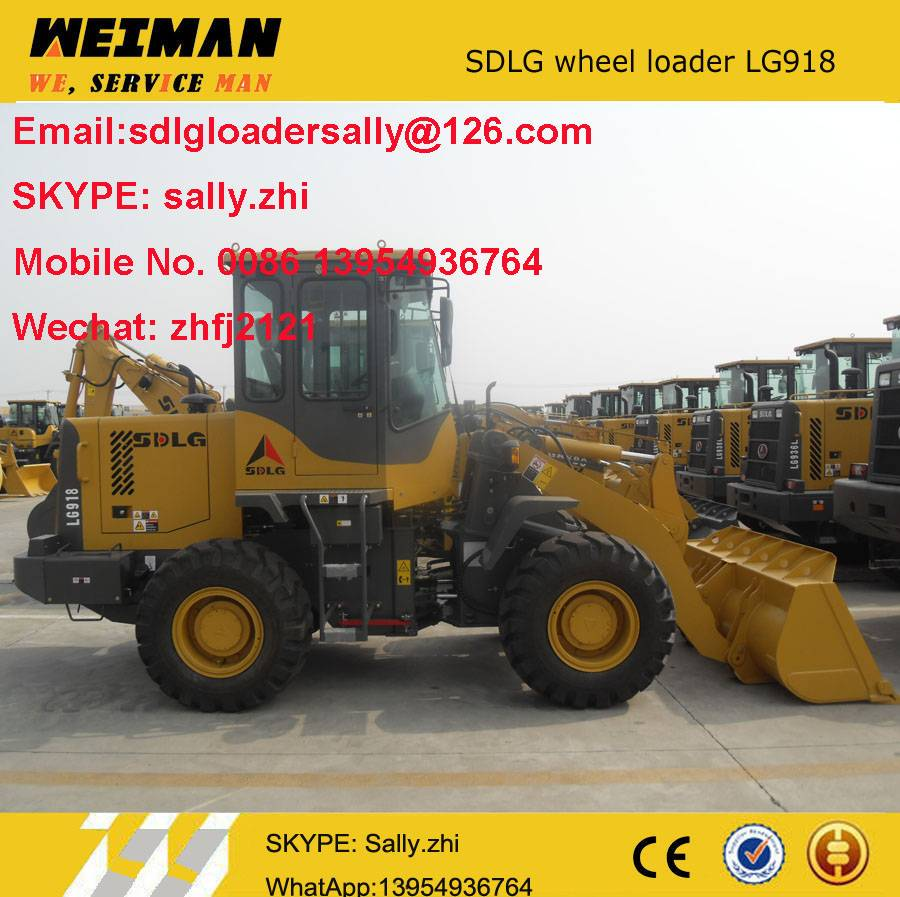 SDLG mini articulated loader LG918L , mini loader price, small construction equipment for sale