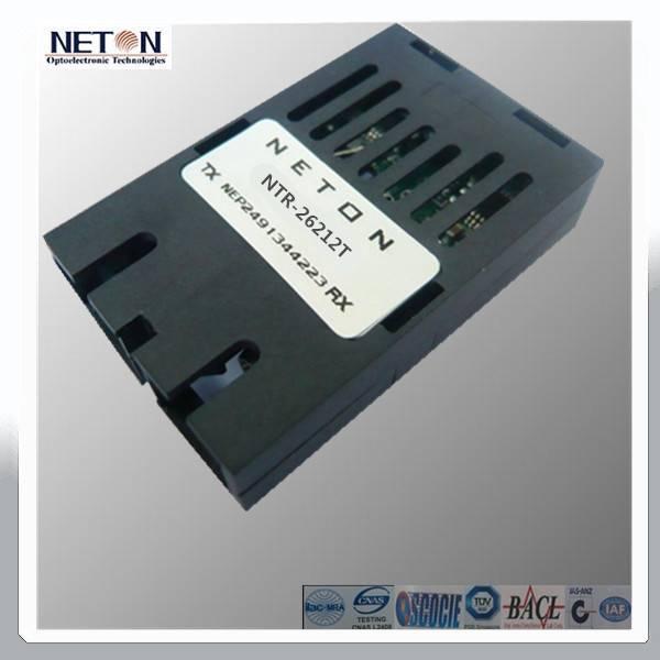 1X9 TX:1250Mbps PECL RX:155Mbps TTL  Bi-Di  SM Asymmetry Transceiver Module
