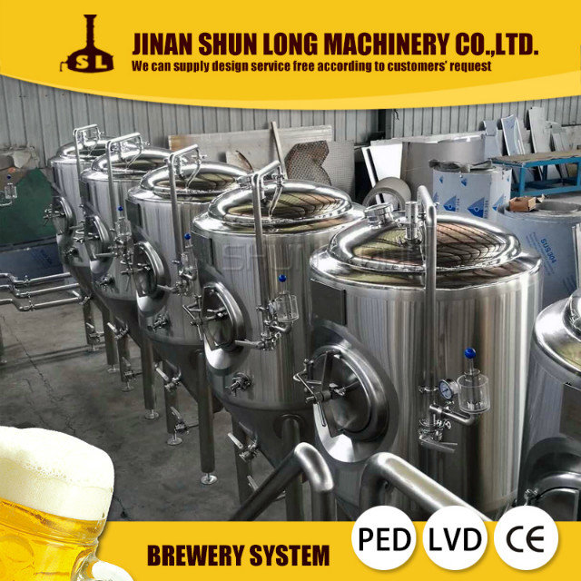 stainless steel 500l 800l 1000l beer brewery equipment, beer brewing equipment, beer making machine