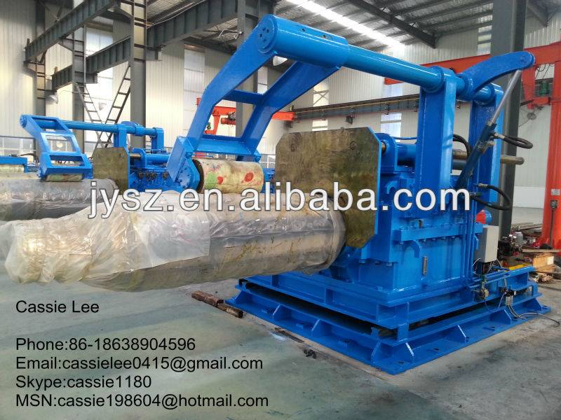 steel sheet auto coiling machine