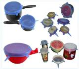 fresh silicone cover food lid
