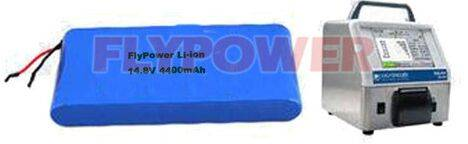 14.8V 4400mAh 18650 Lithium ion Battery pack for Laser Partical Counter