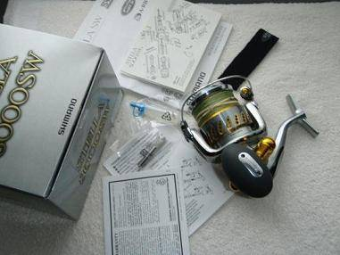 Shimano stella STL8000SW fishing reel