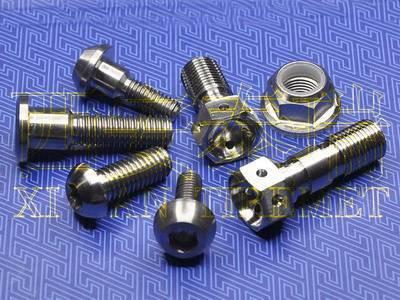 Titanium Motorcycle Parts