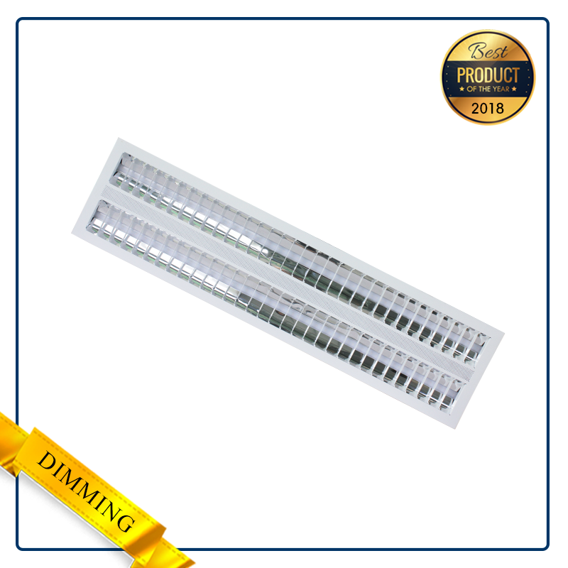 RECESSED T-BAR CEILING MOUNT INDOOR LED GRILLE LIGHT