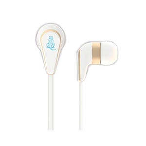 ECOBERRY New Eco In-Ear Earbuds Earphones, for endangered animals, Siberian Tiger
