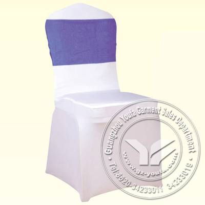 Factory price popular white spandex chair cover for wedding