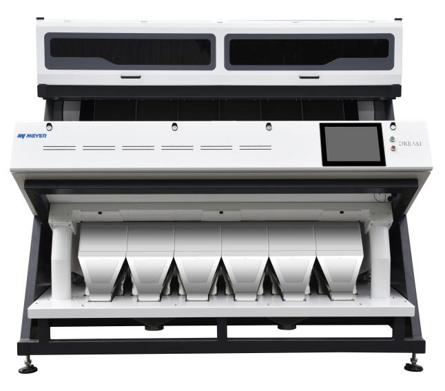 almonds apricot processing color sorter by optical sorting machine