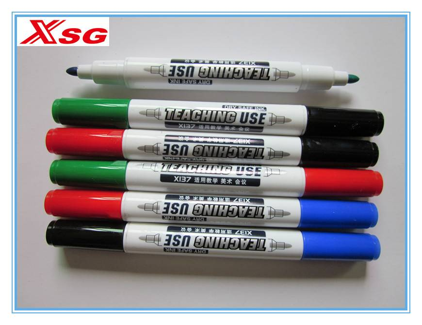 small twin tips marker pen X-137