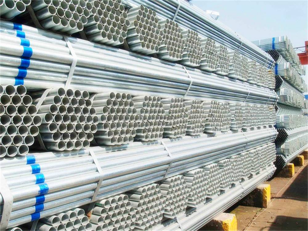 ERW Ss400 Hot -DIP Galvanized Steel Pipe