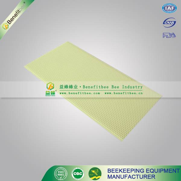 Beekeeping equipment plastic comb foundation
