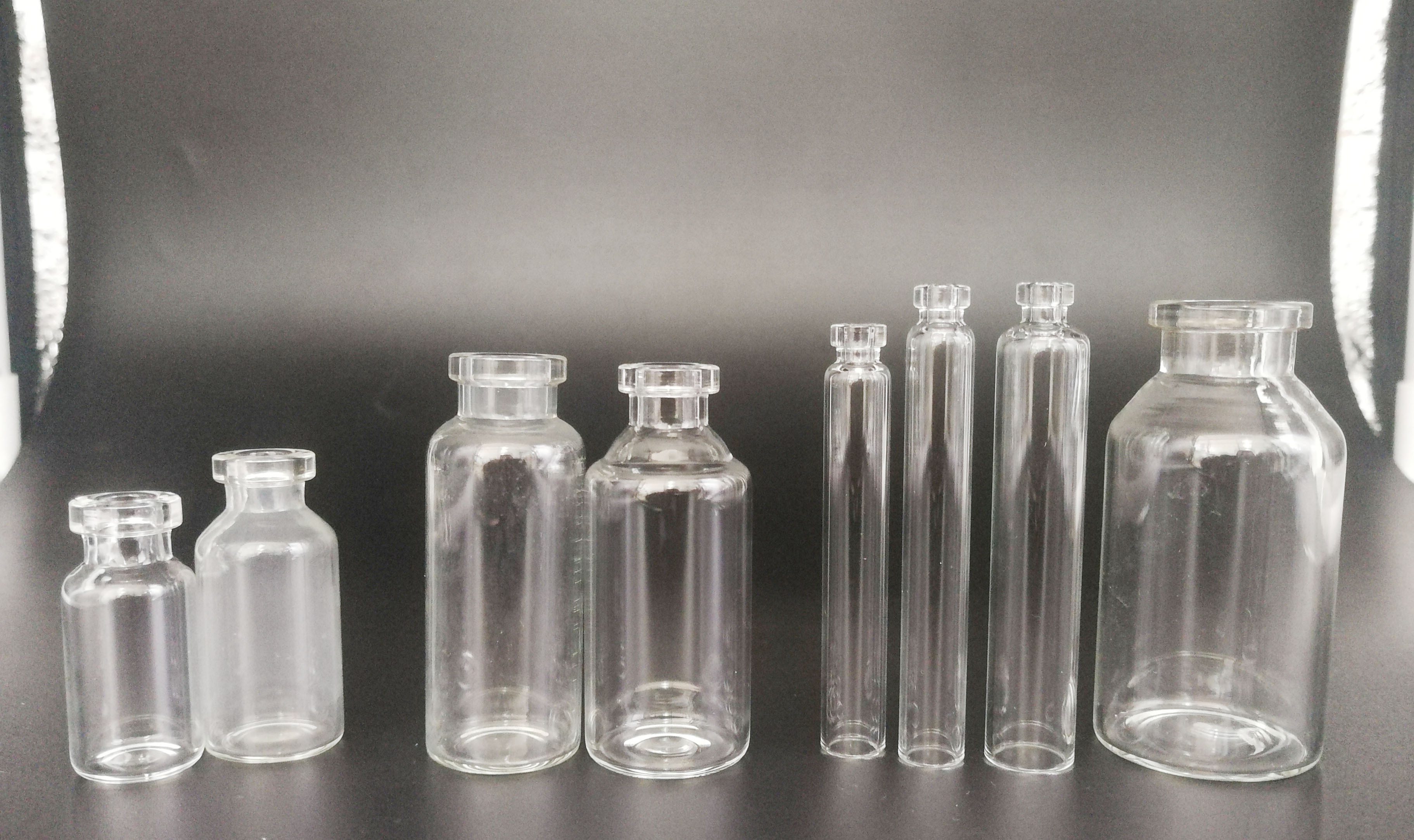 2ml-30ml TUBE GLASS VIAL for phameaceutical medicine packing