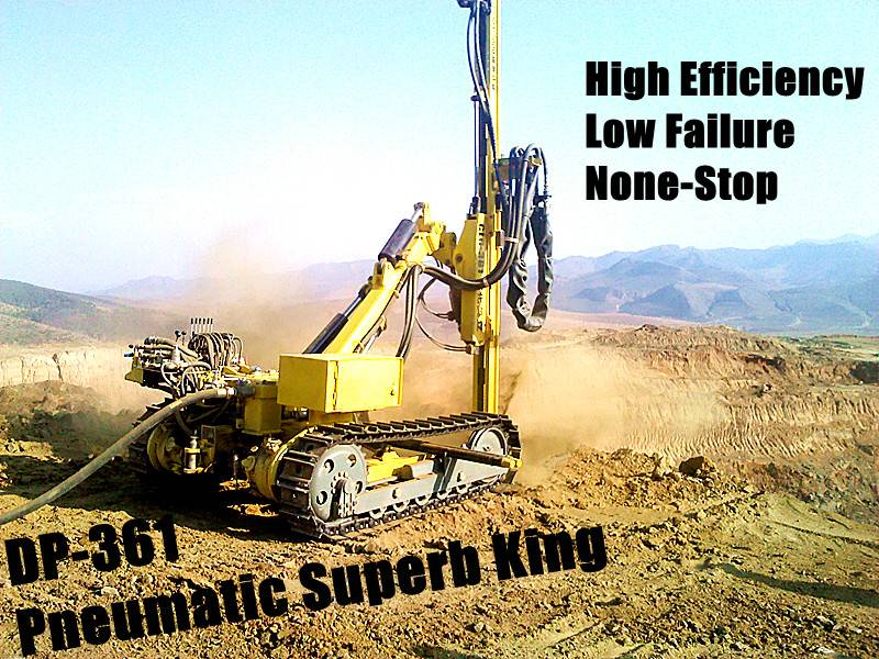 drilling rig surface DTH pneumatic