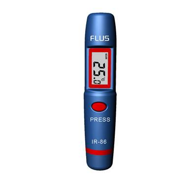 Non-Contact LCD Infrared Temperature Mini Pocket IR infrared Thermometer Pen IR-86