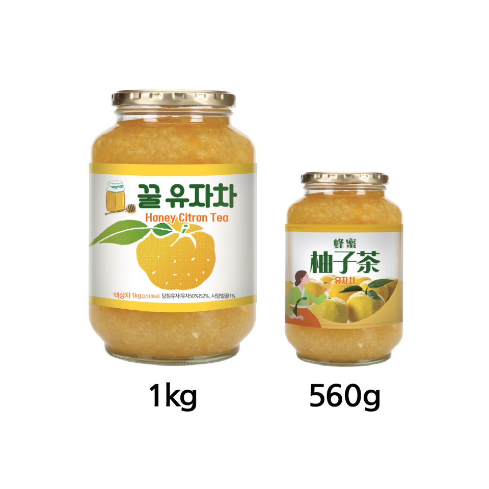 YUZU tea, 100% juice from extracted organic citron