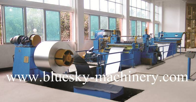 Slitting line 0.3-1.0X1300mm