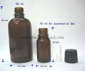 moulded glass bottle(glass bottles for syrups DIN Pp 28mm)
