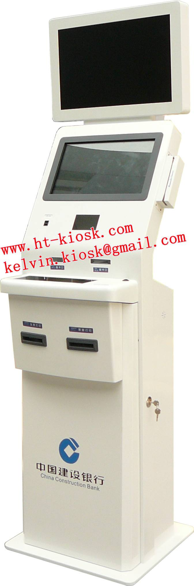 Dual Touch Screen Payment Kiosks