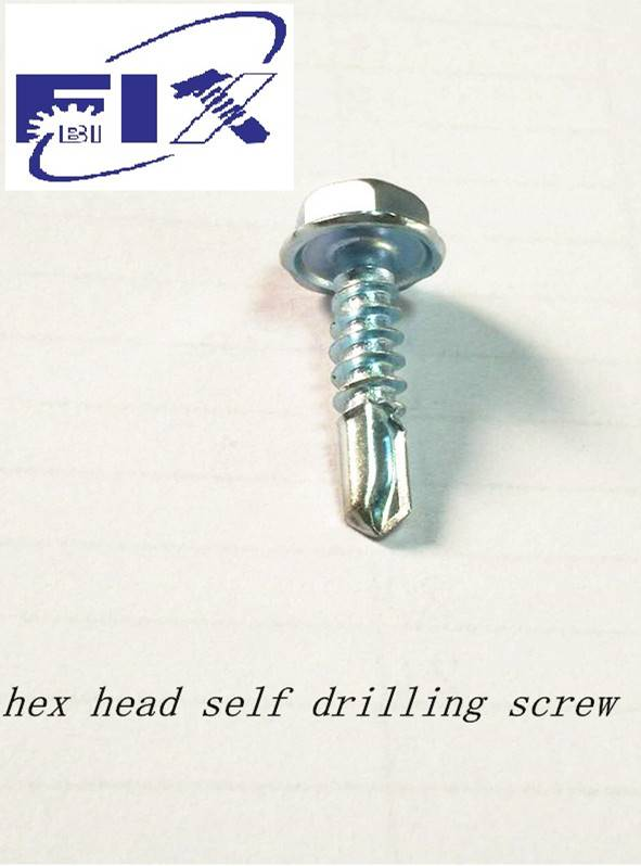 hex head self drilling screw 4.8-19mm