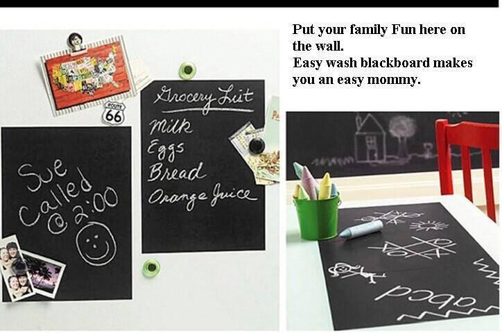 Vinyl chalkboard sticker