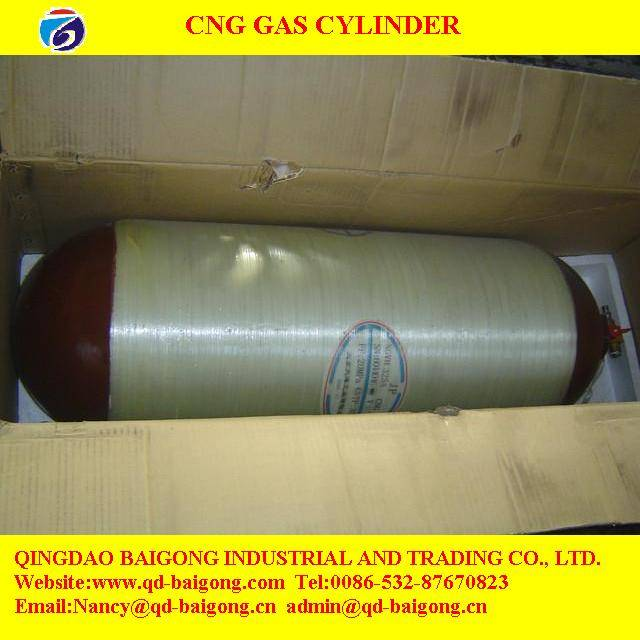 CNG gas cylinder for vehicle