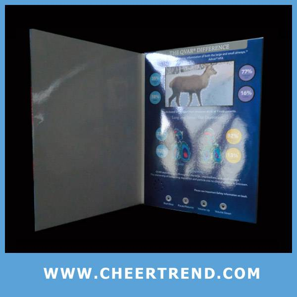 "2.4""/2.8""/3.5""/4.3""/7"" tft screen video greeting card"