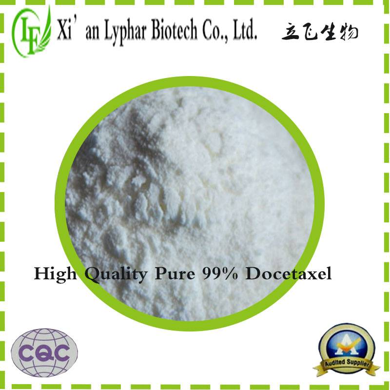 High quality pure natural 99% Paclitaxel extract Docetaxel powder