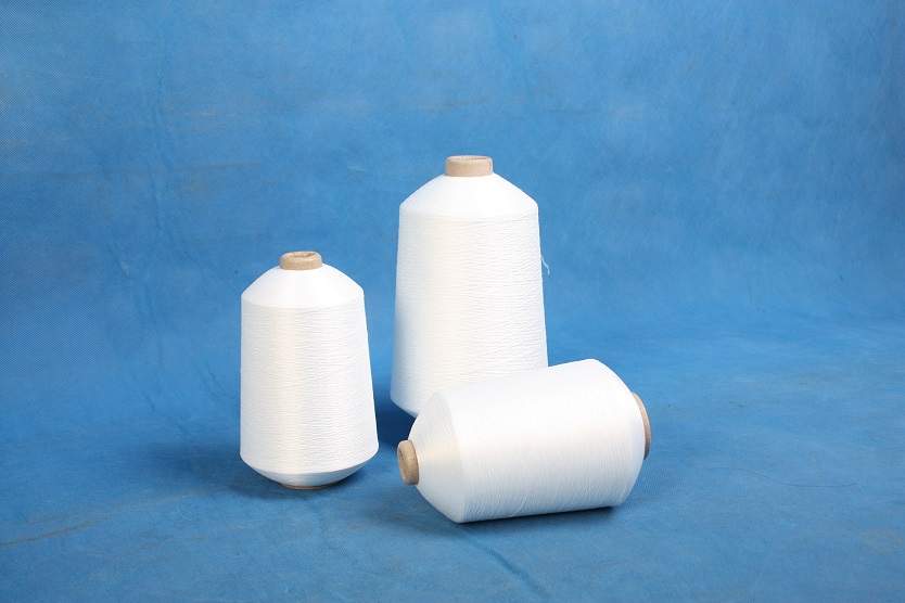 raw white high quality spun polyester yarn for sewing machine