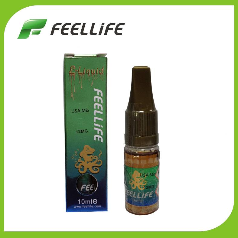 Hot selling USA MIX flavor e-liquid with traditional PG/VG proportion