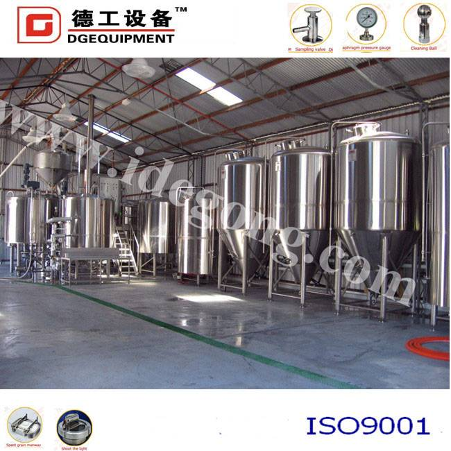 High quality beer brewing equipment used for industrial
