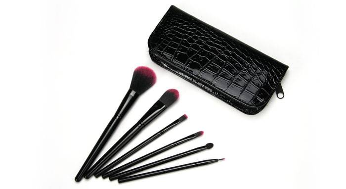 Professional Manufactuer Makeup Brush With Cosmetic Pouch