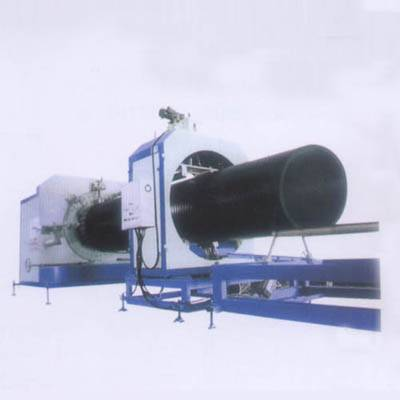 Large Diameter Hollow Wall Winding Pipe Extrusion Line