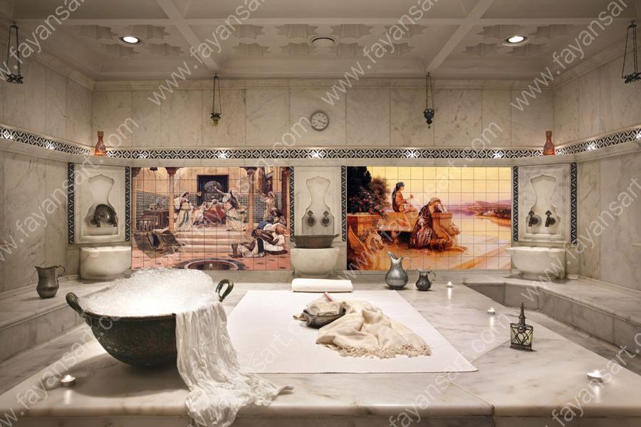 Custom Printed Spa and Bath Tiles