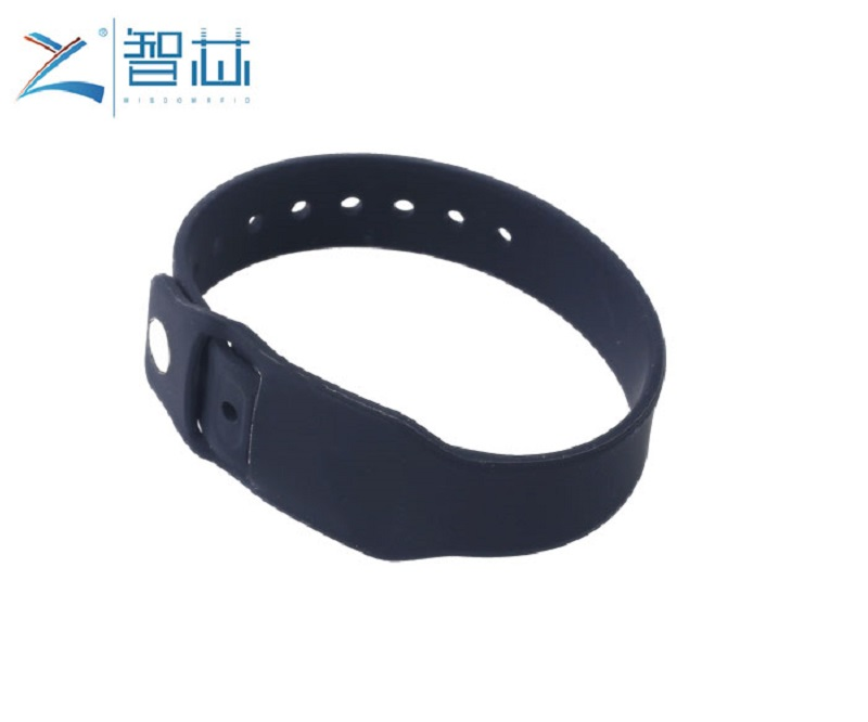 Pocket Silicone RFID Wristband with Replacing RFID Tag