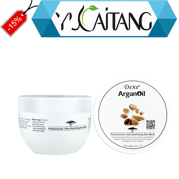Factory price argan oil Hair Shampoo Hair Mask wholesale