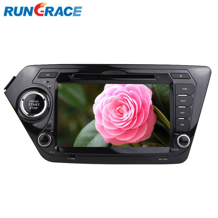 Car GPS Navigation System for Kia K2 RIO Double Din Car Stereo DVD Player