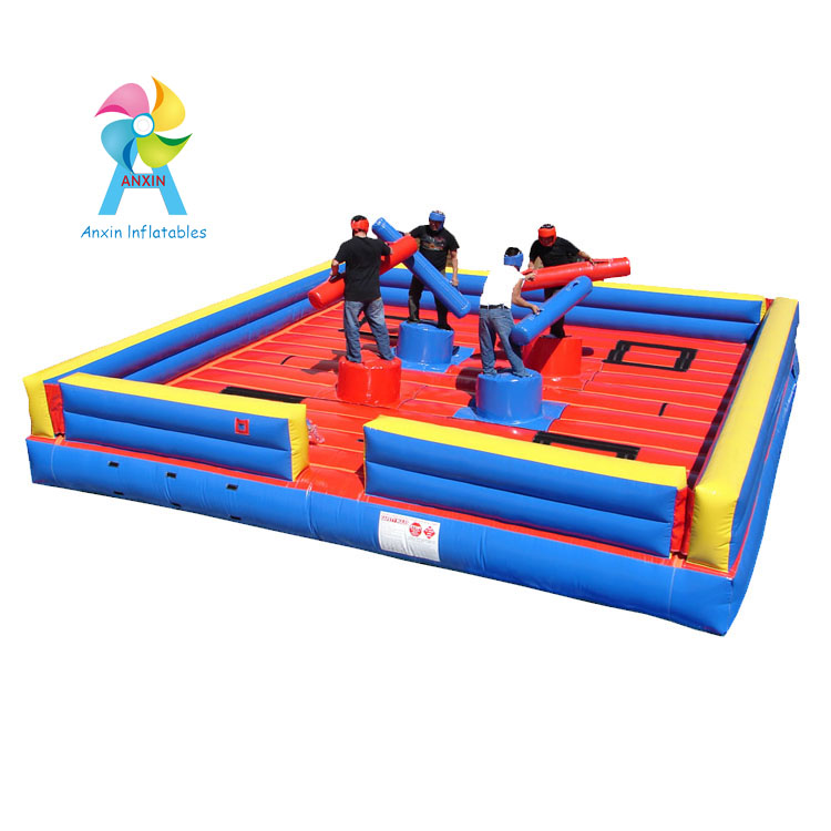 Inflatable Gladiator Joust game for four man, inflatable jousting game in in inflatable bouncer