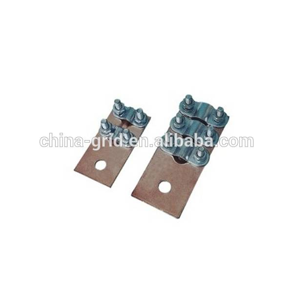 Cable accessory copper plate clamp/ guy clip