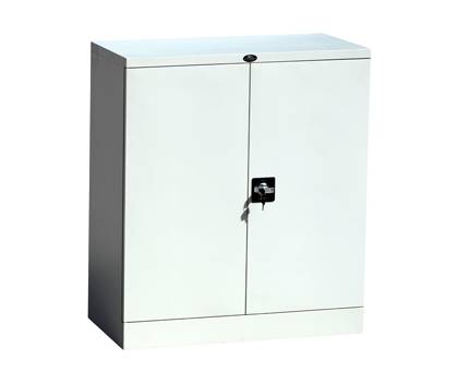 CBNT Two door lockable short metal cupboard