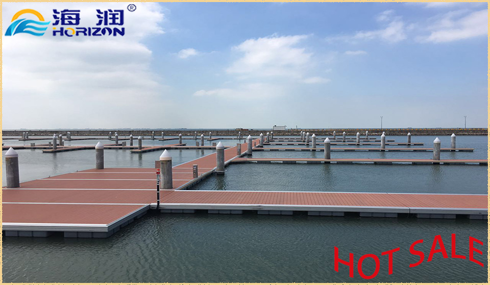 Excellent Stable Hot DIP Galvanized Steel Frame Floating Pontoon