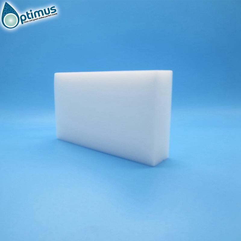 Standard original density white magic nano sponge melamine kitchen cleaning sponge