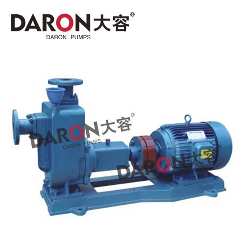 Zw Type Self-Priming Non-Clog Sewage Pump