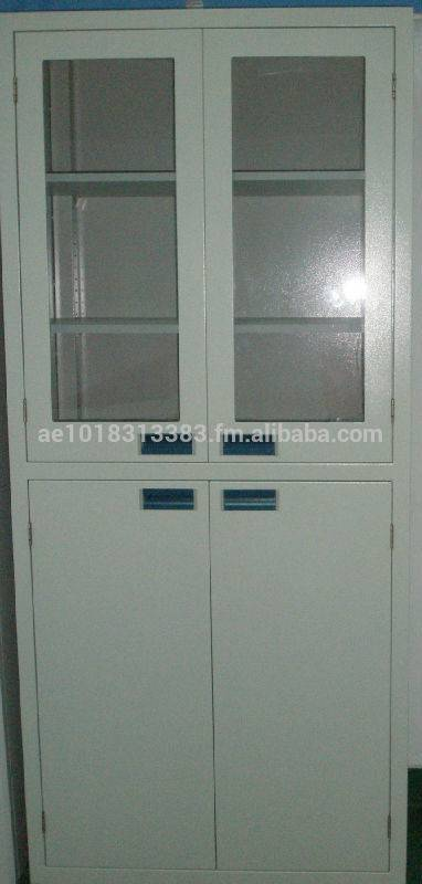 lab medcial furniture medicine cabinet steel medical cabinet